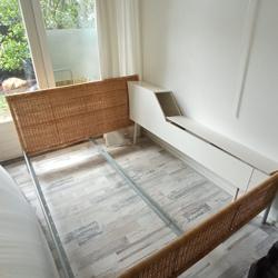 Bed met lattenbodem 200x180