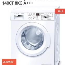 BOSCH Waq283s1 Wasmachine 1400T 8KG 250€