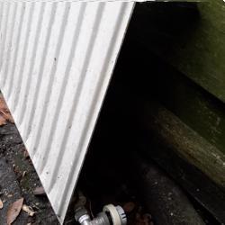 oude radiator 365cm