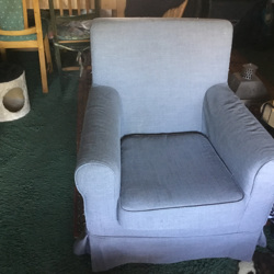 Ikea stoel Ektorp Jenny Lund