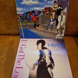 "LP's, PRINCE "" 2x div, zie foto's"""