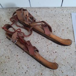 houten schaatsen