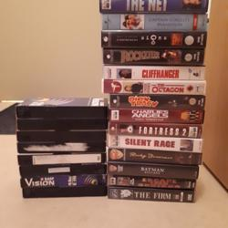 Heel veel videobanden