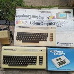 Commodore Vic20 inclusief Computer Cassette