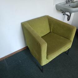 Groene zitstoel