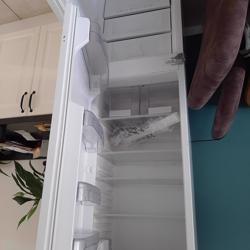 Inbouw Whirlpool koel vries combi
