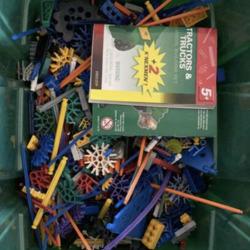 Knex speelgoed incl opbergdozen
