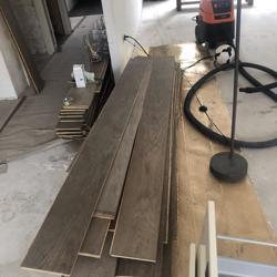 Eiken houten parketvloer 6 mm toplaag. Select