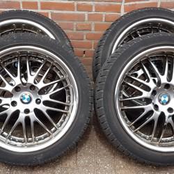BMW 3 4 serie F30 F32 18 inch velgen + winterbanden