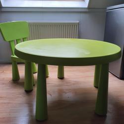Ikea kindertafel