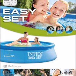 Intex Easy Set zwembad 244 x 61 cm met filterpomp