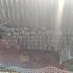 Border rots/stenen