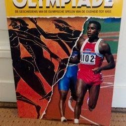 Boek over geschiedenis Olympische Spelen
