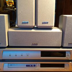 Sony audioset surround 5.1 ( kost €20) afhalen