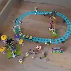 Lego friends achtbaan