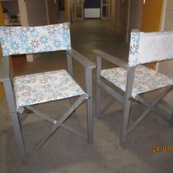 Inklapbare stoeltjes