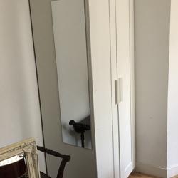 Witte IKEA brimnes kast