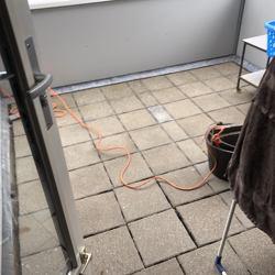 Drainatategels voor beloopbaar maken dakbedekking