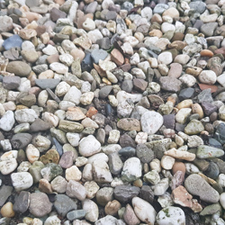Ongeveer 1 kuub fijn grind