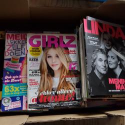 Linda, stripboeken, Girlz, Plus, Margriet en nog andere tijdschriften