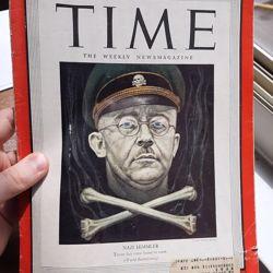 Verenigde Staten - WW2 TIME magazine met Himmler-omslag - 12