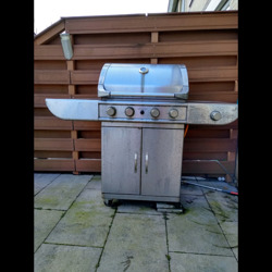 RVS gas barbeque