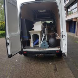 Transport van meubelen, huisraad aangeboden omgeving Alkmaar