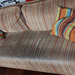 Bank, 195 cm breed, meer kleurig