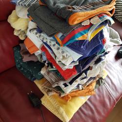 Babykleding gratis af te halen in Barendrecht