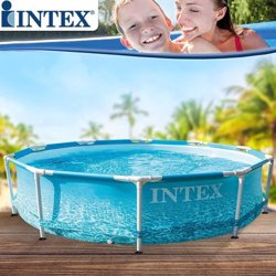 Zwembad - Intex - Rond - Metalen frame - 305x76 cm