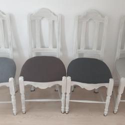 4x eettafel stoelen