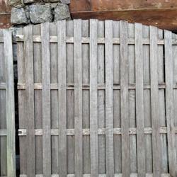 Tuinschermen 1.80 x 1.80 hout