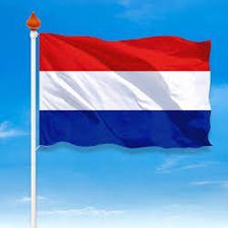 Vlagge mast met Ned vlag