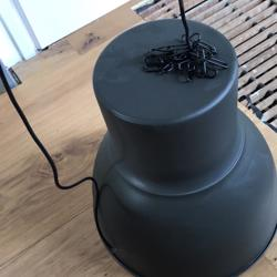 Antraciet lamp Hektar Ikea 47 cm