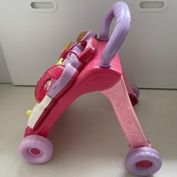Baby loopwagen roze
