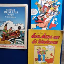Stripboeken oa Jan Jans en de kinderen