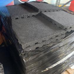 Rubberen Vloertegels 50x50x4.5cm (enorme voorraad!)