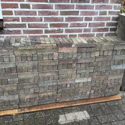 7,5 m2 klinkertjes in Leerdam