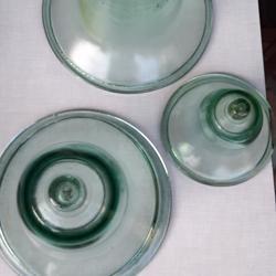 klokvazen van glas (3 stuks)