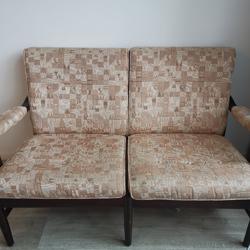 Klein bankje en fauteuil vandaag op te halen!