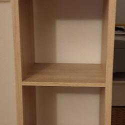 Boekenkast in eikenkleur met 4 open vakken