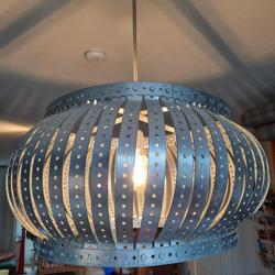 Mooie industriele lamp
