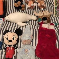 Diverse gebruikte speelgoed