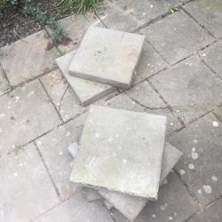 Prima in staat verkerende 30 x 30 cm tegels