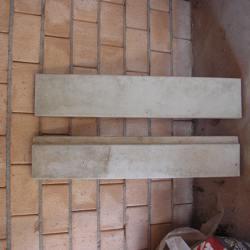 betonnen kantplanken