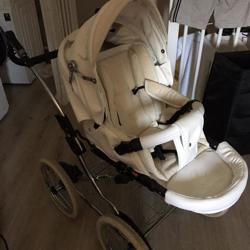 Kinderwagen white/creme