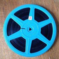 Grote filmspoel gezocht 18 cm