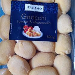 Voedsel Gnocchi Tomaat Mozzarella 500gr