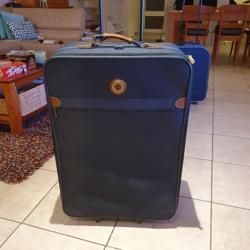 hele grote koffer van stof