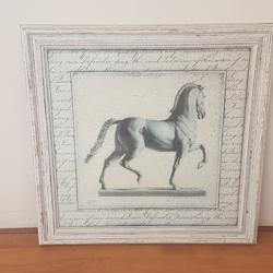 Schilderij van paard